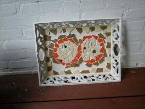 Wilma mozaiek dienblad klein