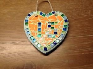 mozaiek hart Leonie klein